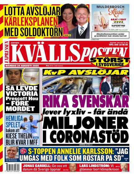 Kvällsposten August 24, 2020 00:00