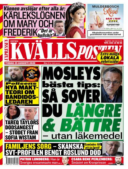 Kvällsposten August 25, 2020 00:00