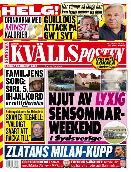 Kvällsposten August 29, 2020 00:00