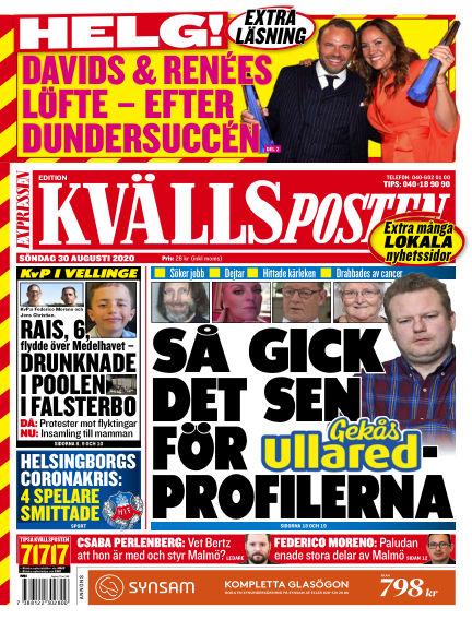 Kvällsposten August 30, 2020 00:00