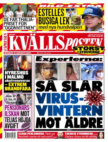Kvällsposten August 31, 2020 00:00