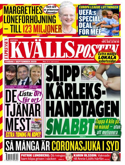 Kvällsposten September 01, 2020 00:00