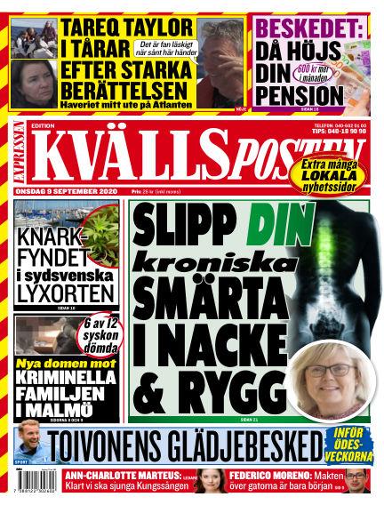 Kvällsposten September 09, 2020 00:00