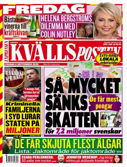 Kvällsposten September 11, 2020 00:00