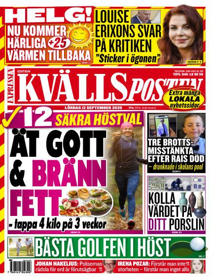 Kvällsposten September 12, 2020 00:00