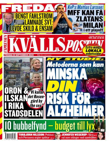 Kvällsposten September 18, 2020 00:00