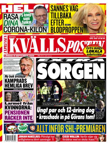 Kvällsposten September 19, 2020 00:00