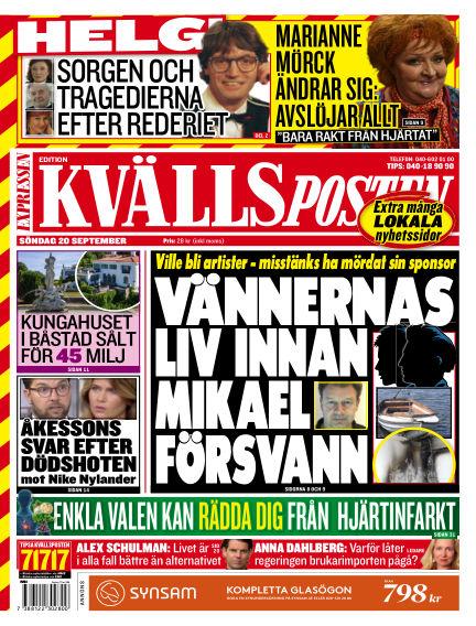 Kvällsposten September 20, 2020 00:00