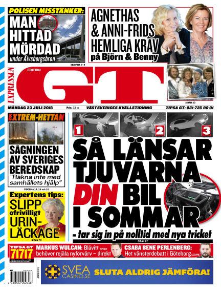GT July 23, 2018 00:00