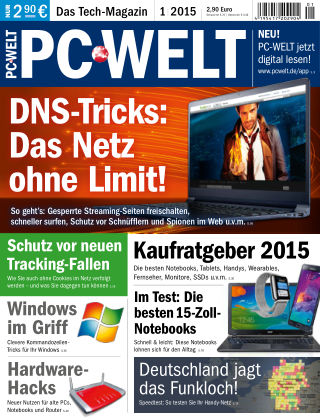 PC-WELT 01/15
