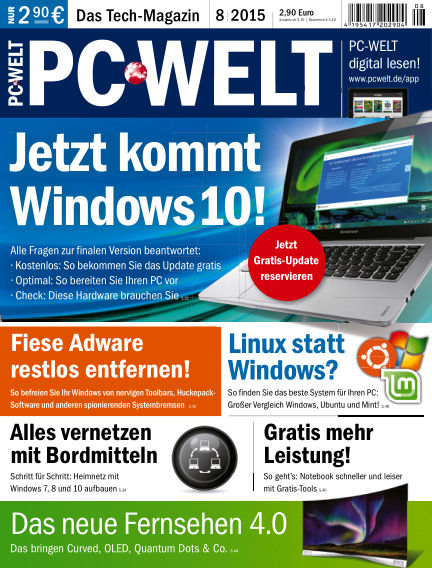 PC-WELT July 03, 2015 00:00