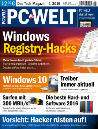 PC-WELT 01/16