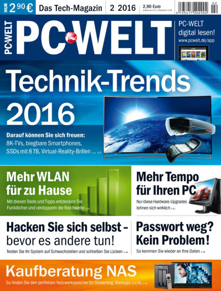 PC-WELT January 02, 2016 00:00