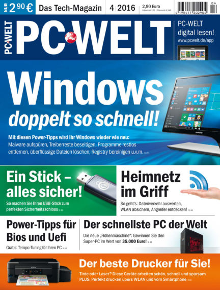 PC-WELT March 04, 2016 00:00