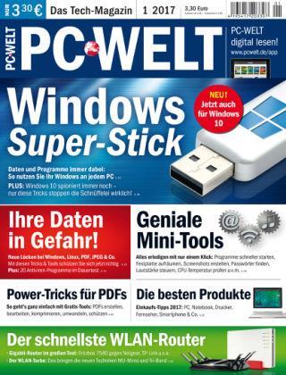 PC-WELT 01/17