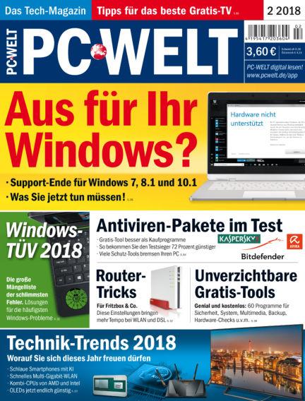 PC-WELT January 05, 2018 00:00