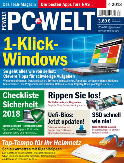 PC-WELT March 02, 2018 00:00