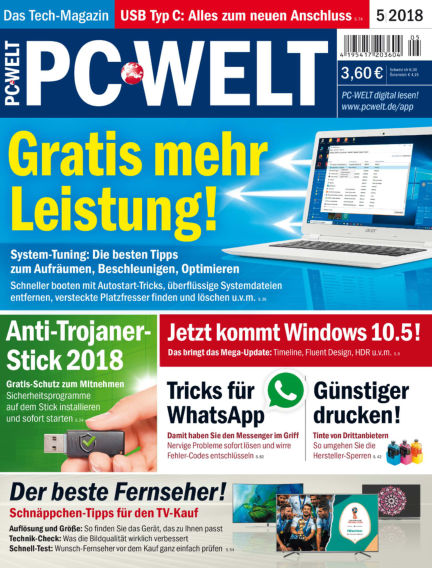 PC-WELT April 06, 2018 00:00