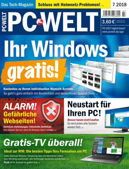 PC-WELT June 01, 2018 00:00
