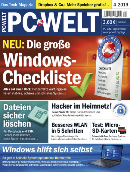PC-WELT March 01, 2019 00:00