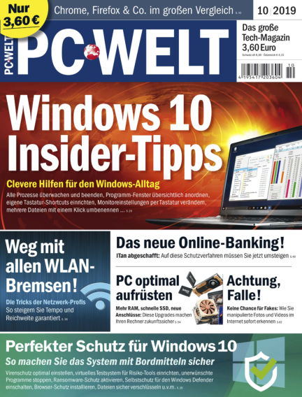 PC-WELT September 06, 2019 00:00