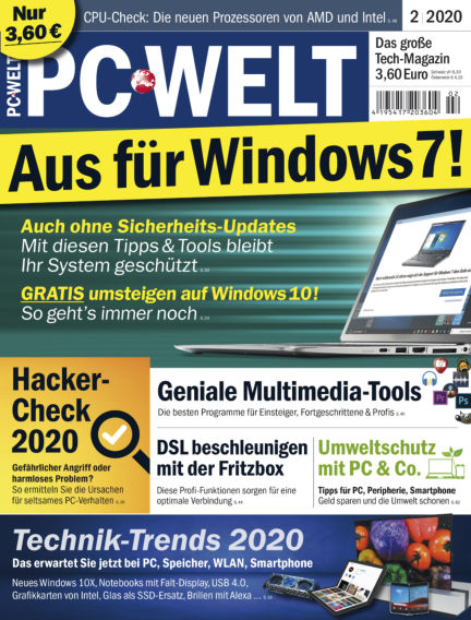 PC-WELT January 03, 2020 00:00