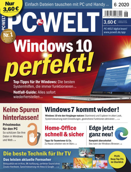 PC-WELT April 30, 2020 00:00