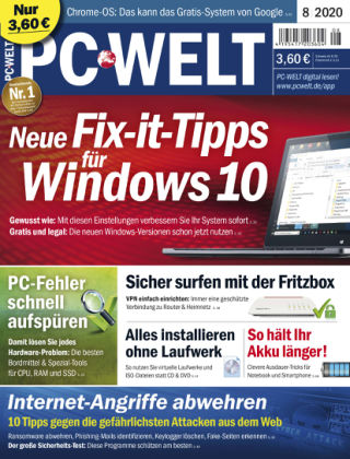 PC-WELT 08/2020