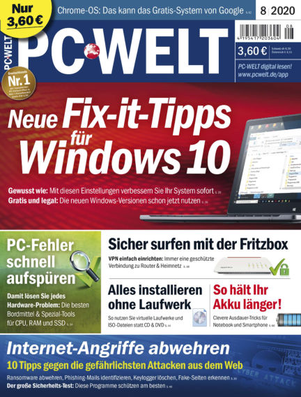 PC-WELT July 03, 2020 00:00