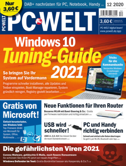 PC-WELT October 30, 2020 00:00