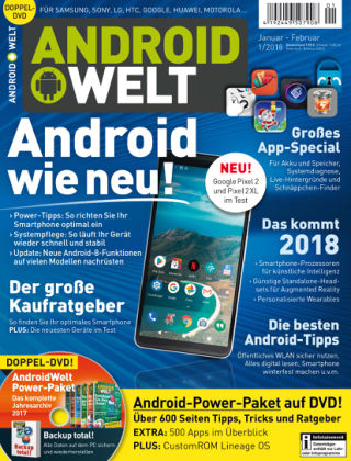 AndroidWelt 01/18