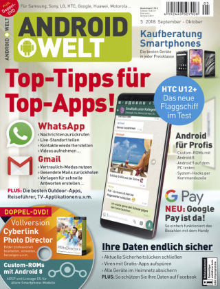 AndroidWelt 05/18