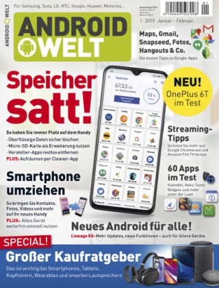 AndroidWelt 01/19