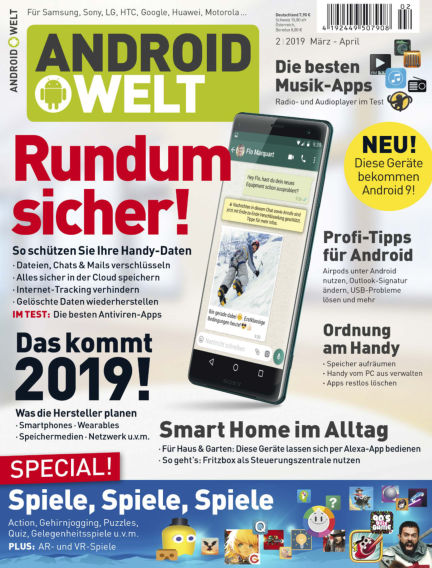 Read Androidwelt Magazine On Readly The Ultimate Magazine