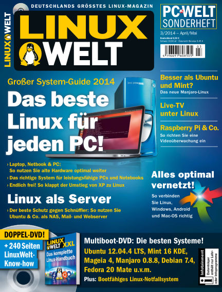 LinuxWelt March 28, 2014 00:00