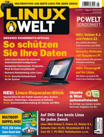 LinuxWelt July 31, 2015 00:00