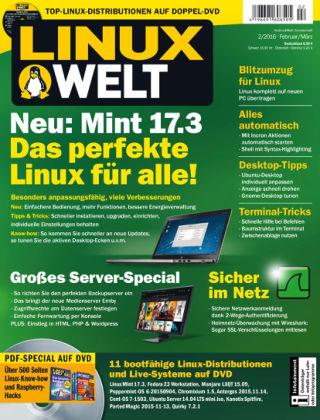 LinuxWelt 02/16