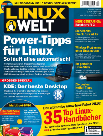 LinuxWelt March 24, 2016 00:00