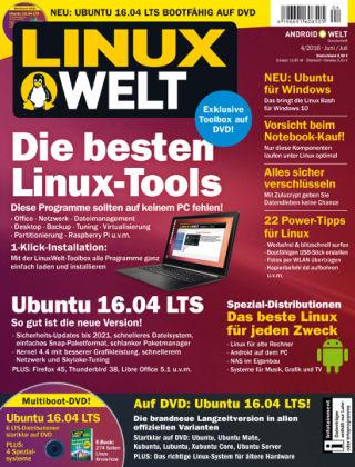 LinuxWelt 04/16