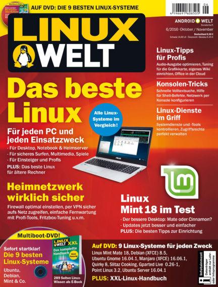 LinuxWelt September 30, 2016 00:00