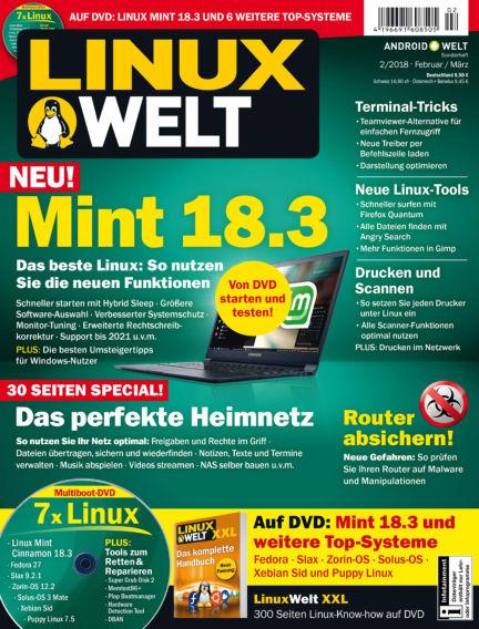 LinuxWelt January 26, 2018 00:00