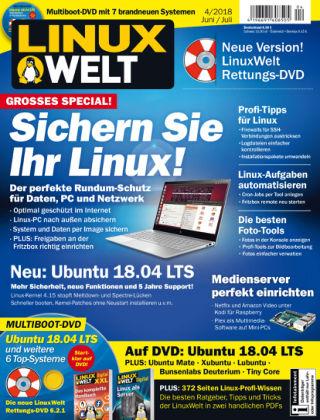 LinuxWelt 04/18