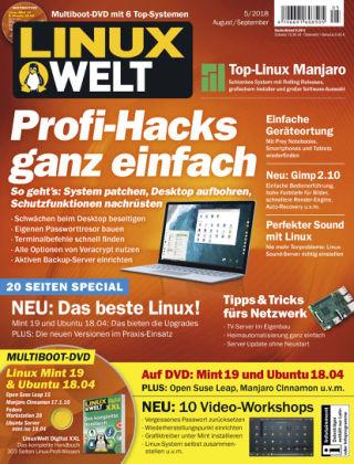 LinuxWelt 05/18