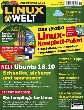 LinuxWelt 01/19