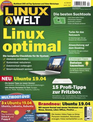 LinuxWelt 04/19