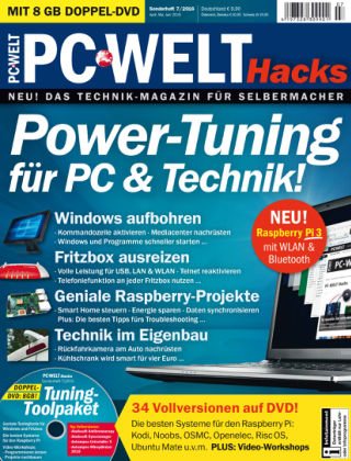 PC-WELT Sonderheft 07/16