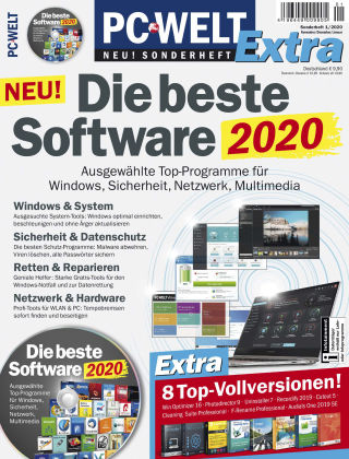 PC-WELT Sonderheft 01/20