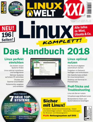LinuxWelt Sonderheft 02/18