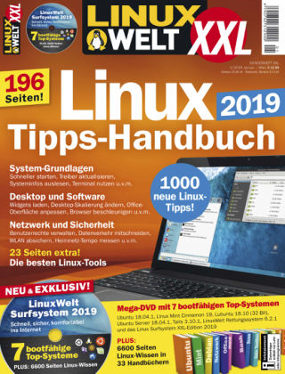 LinuxWelt Sonderheft 01/19