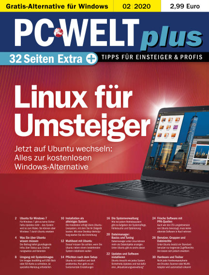 PC-WELT PLUS January 03, 2020 00:00